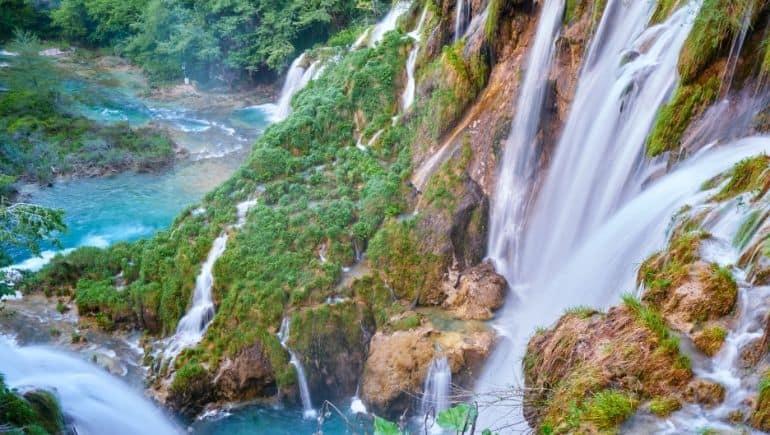Cascadas de Croacia - Sastavci
