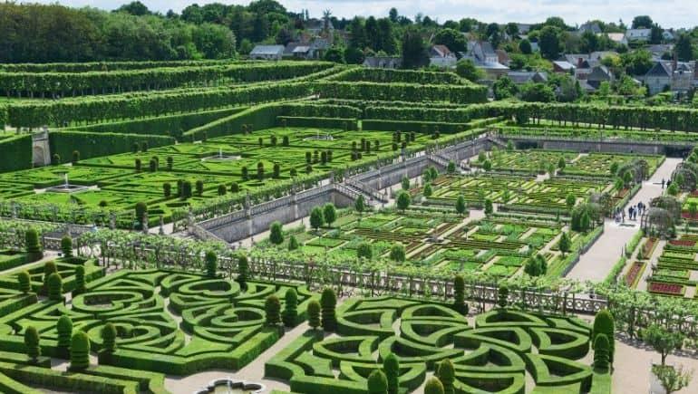 Ruta de los castillos de Francia - Villandry