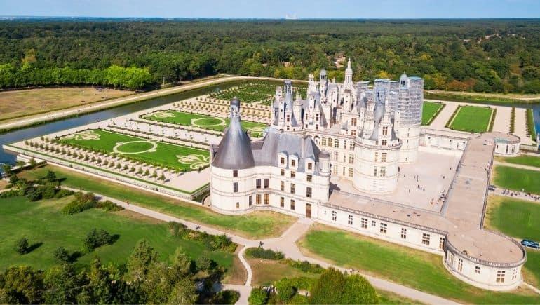 Ruta de los castillos de Francia - Chambord