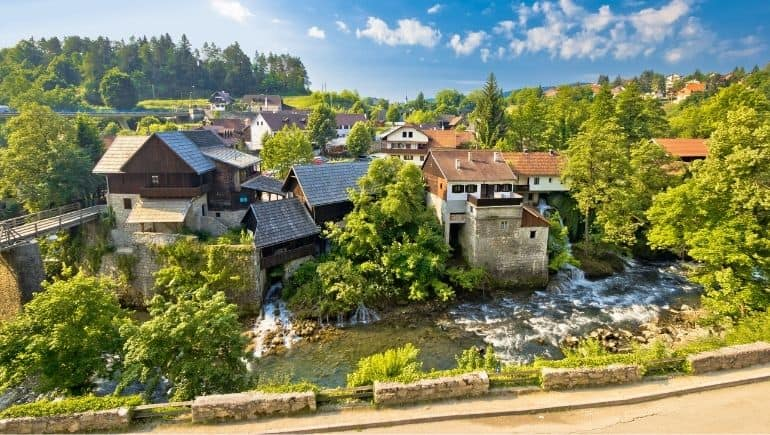 Cascadas de Croacia - Rastoke