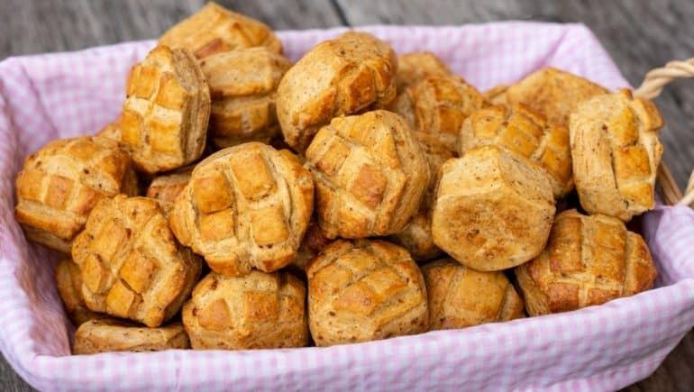 Comida típica de Hungría - Pogacsa