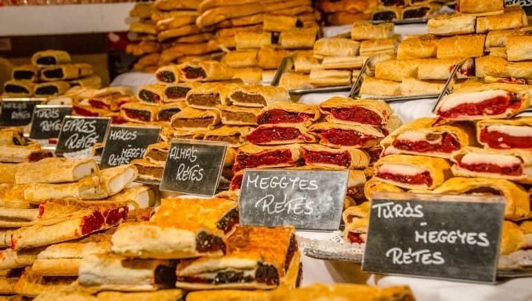 Comida típica de Hungría - Retes