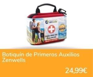 Botiquín de primeros auxilios Zenwells