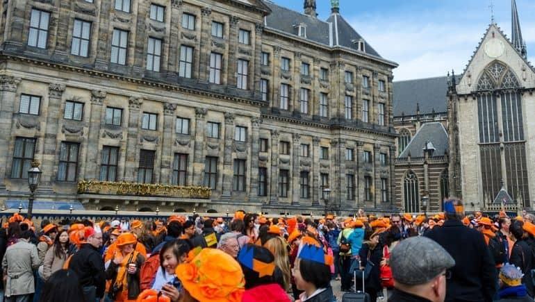 Dia de la Reina en Ámsterdam