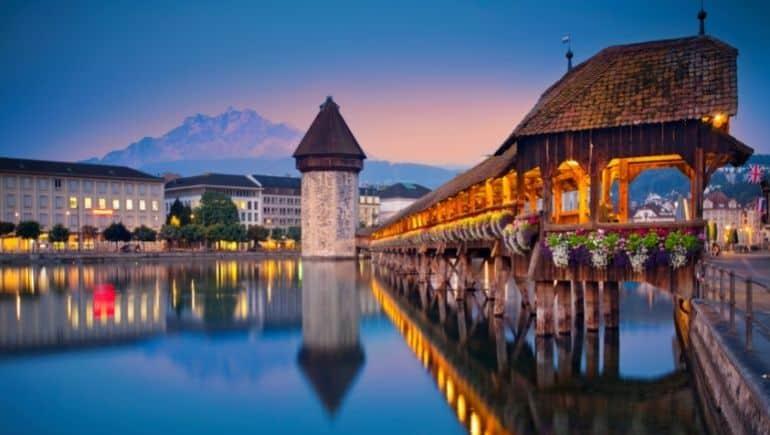 Navidad en Suiza: Lucerna