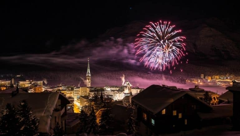Suiza en Navidad: St Moritz