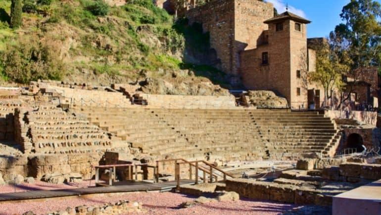 Monumentos de Málaga: teatro romano