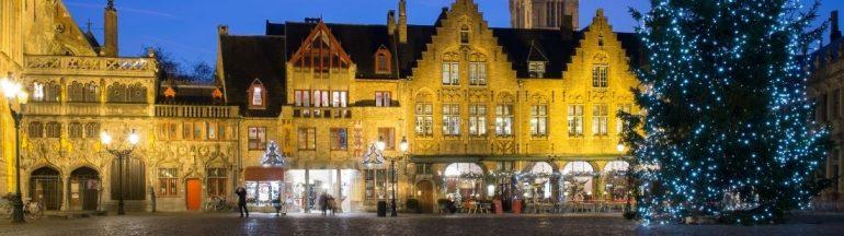 Brujas en Navidad | Bélgica | Portada