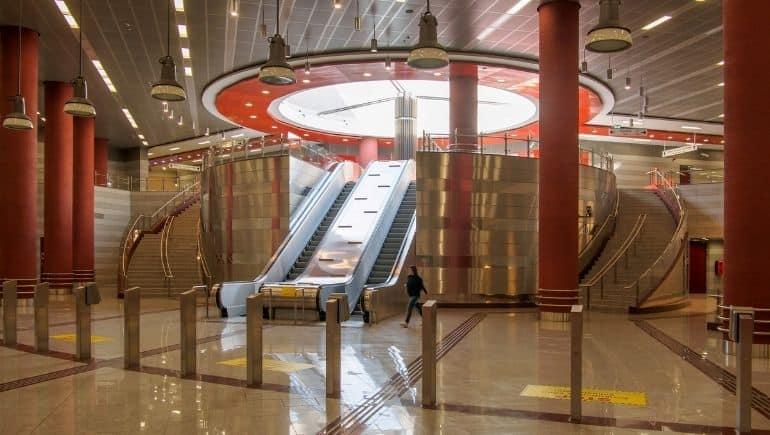 estación del metro de Atenas