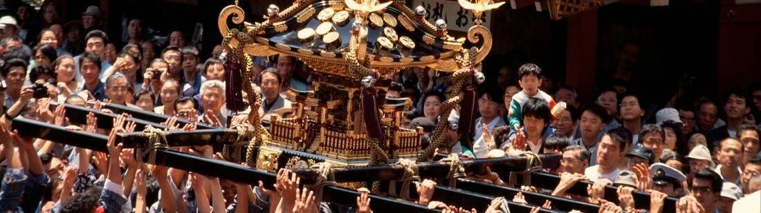 Festival Sanja Matsuri de Tokio