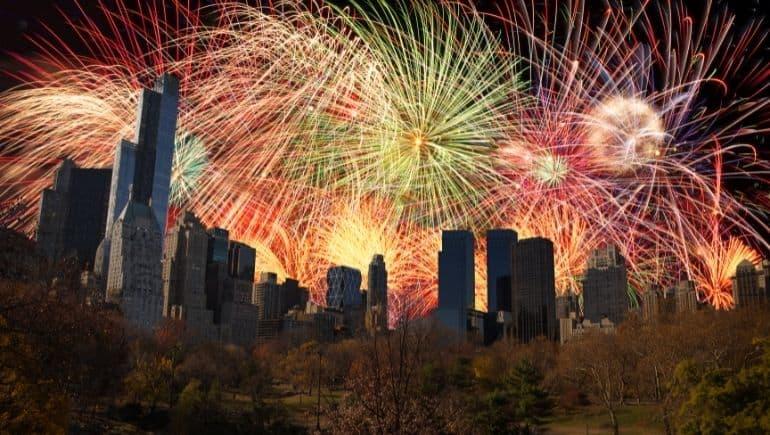 fin de año en nueva york - Central Park