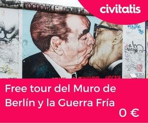 Free tour del muro de Berlín y la Guerra Fría (East side gallery(