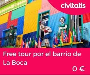 Free tour La boca