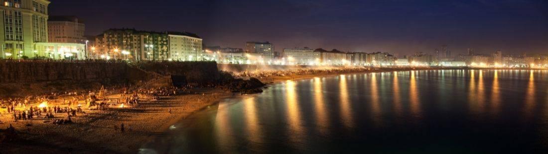 La celebración de la Noche de San Juan