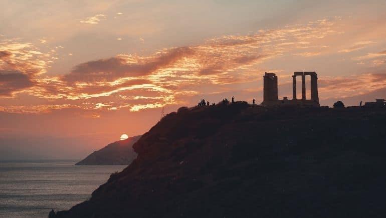 Templo de Poseidón en Sounion