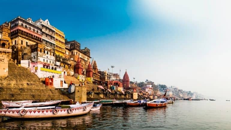 Destinos religiosos: Varanasi