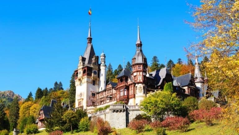 Castillos de Rumania - Castillo de Peles