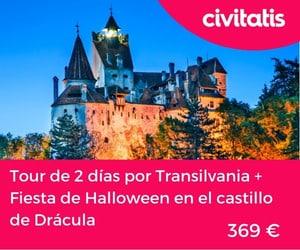 Castillos de Rumania - Transilvania y hallowen dracula