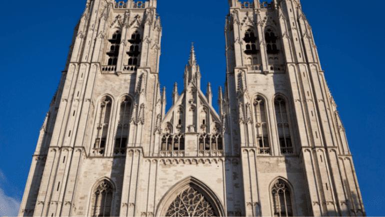 Exterior - Catedral de Bruselas