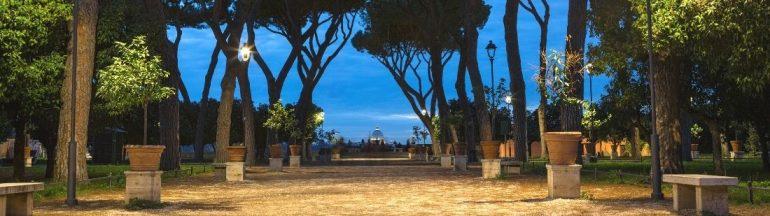 Jardin de los Naranjos de Roma - Portada