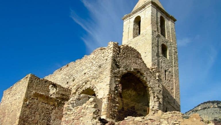 Lugares abandonados: Sant Roma de Sau