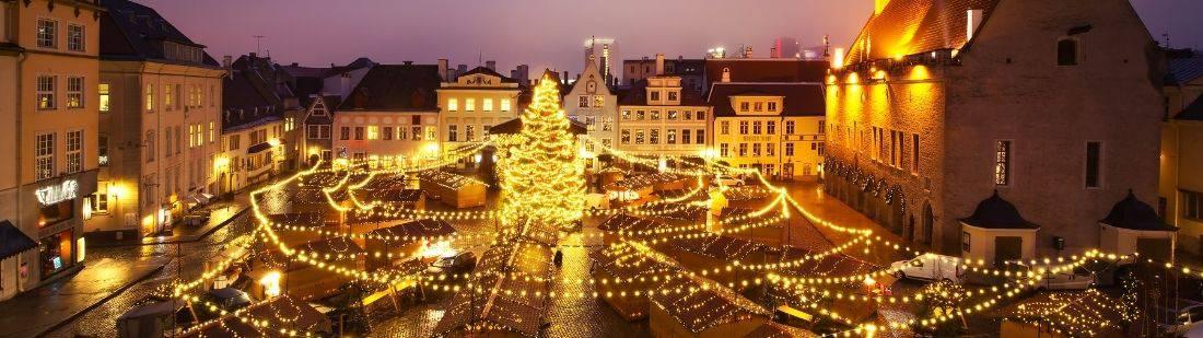 Tallin en navidad