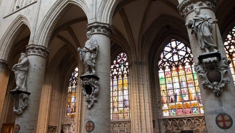 Vidrieras - Catedral de Bruselas